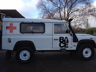 Bace Landrover